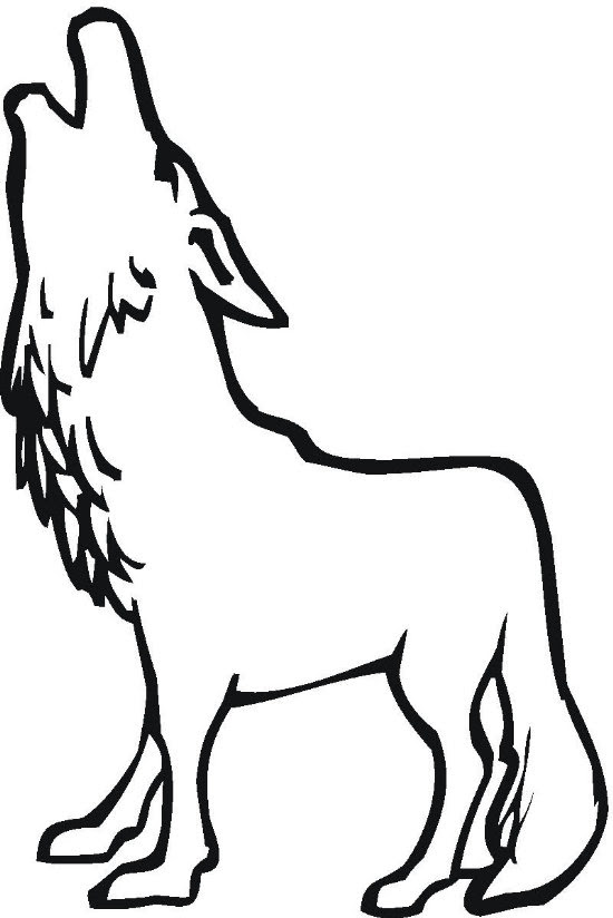 Wolf Coloring Pages   Coloring Pages To Print