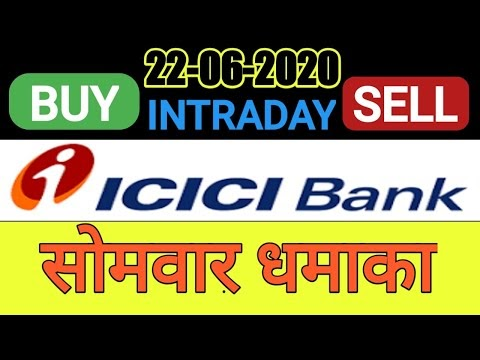 Best intraday stock 19/06/20 |tomorrow trading stock| icicibank share te...