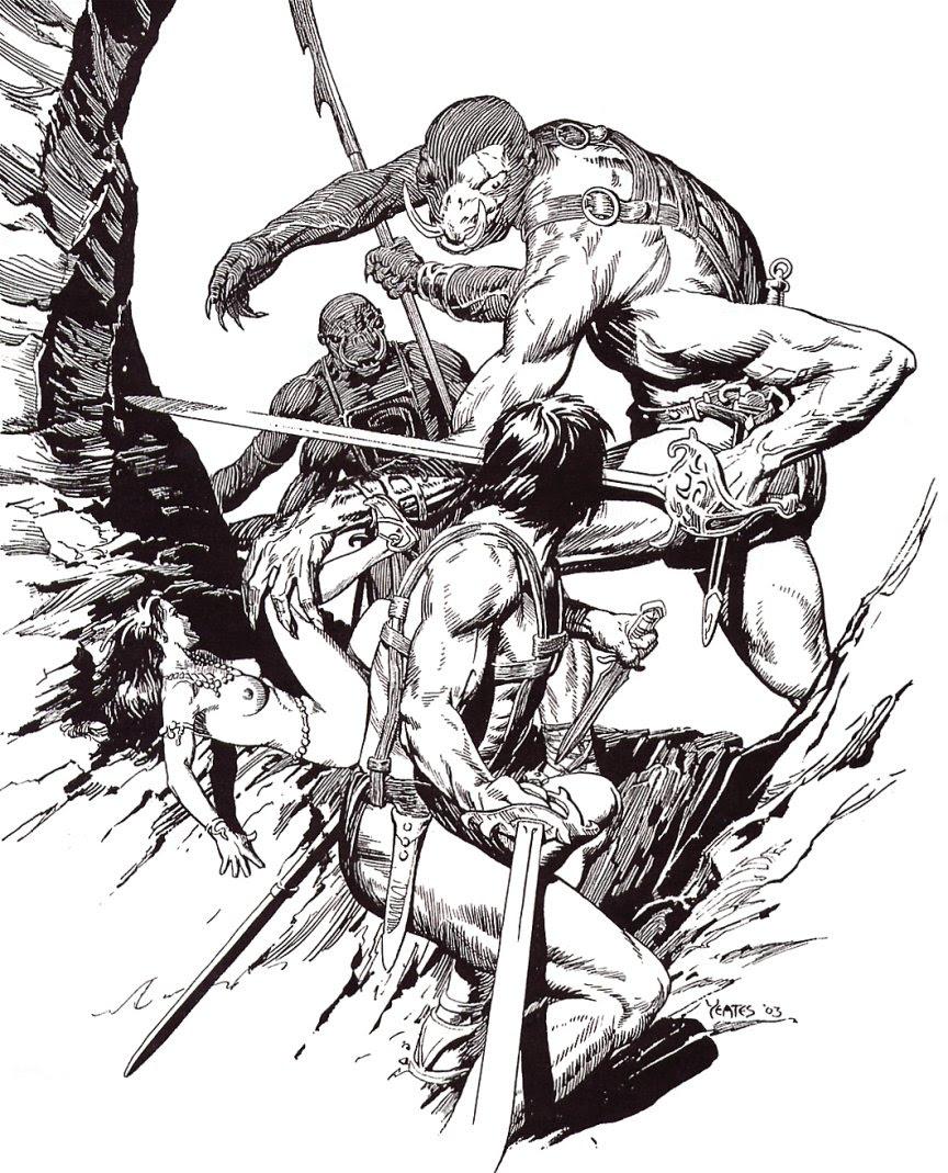 Thomas Yeates - John Carter Of Mars, Illustration 4