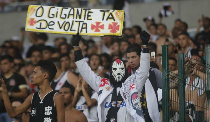 torcida vasco (Foto:  REGINALDO PIMENTA / Agência Estado)
