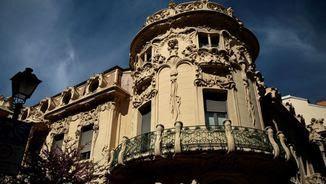 Palau de Longoria, a Madrid, on hi ha la seu de la SGAE