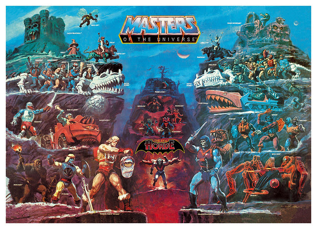 Masters Of The Universe - 3 (painting by William George)