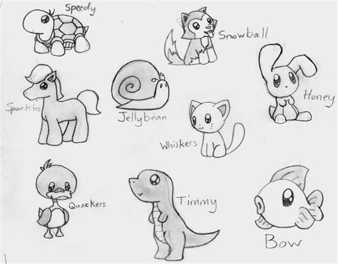 cute animal drawing cute animal drawings easy animal