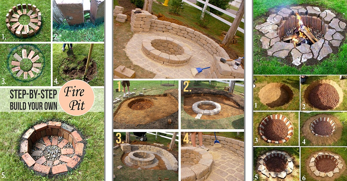 18+ How To Dig A Fire Pit In Your Backyard Pics - HomeLooker