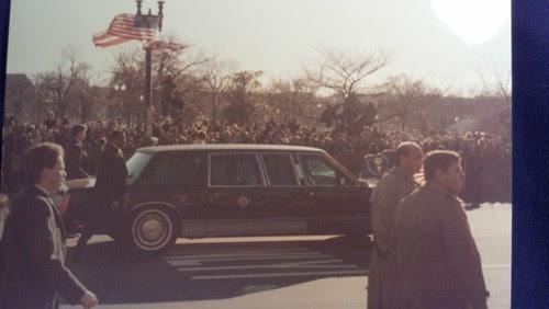 George H.W. Bush inauguration