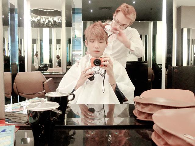typicalben hair cut at action hair salon