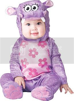 huggable hippo costume