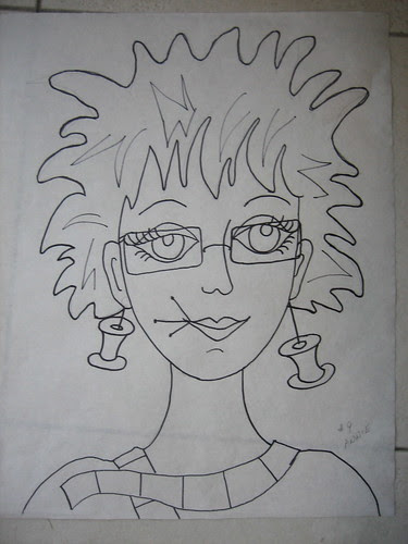 Annie - the drawing