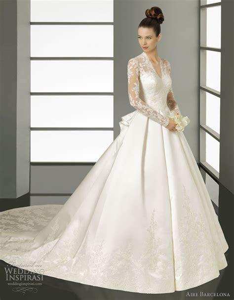 Aire Barcelona Wedding Dresses 2012   Wedding Inspirasi
