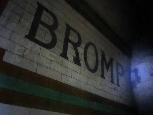 Brompton Road Platform 1 by Annie Mole