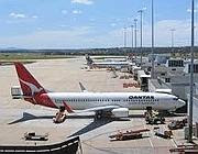Un'immagine dell'aeroporto di Melbourne (dal web)