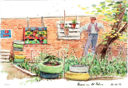 Rincón en el huerto by aidibus