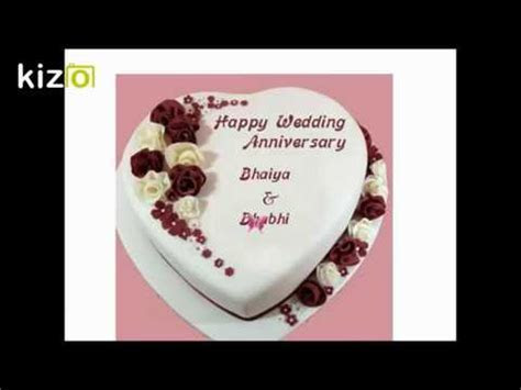 Happy Anniversary Bhaiya and Bhabhi wishes,whatsapp status