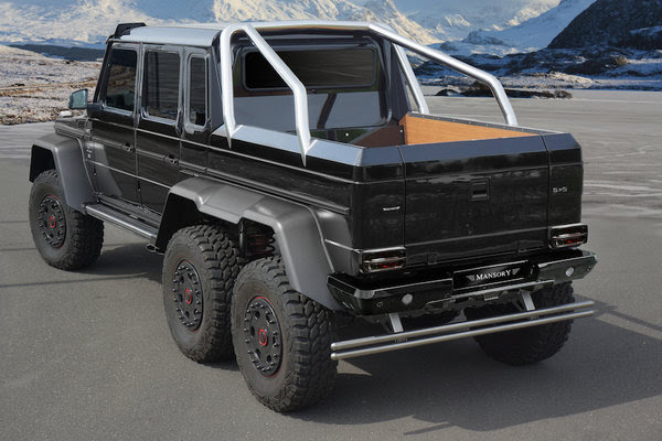 2014 Mercedes AMG G63 6x6 By Mansory | car review @ Top Speed