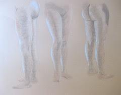 Lower Body Studies - Female Model