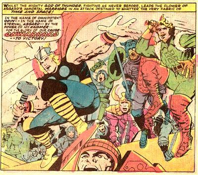 Thor #127 panel