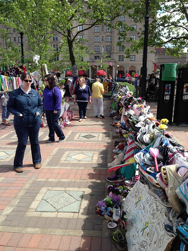 Boston Marathon attack memorial, Copley Square