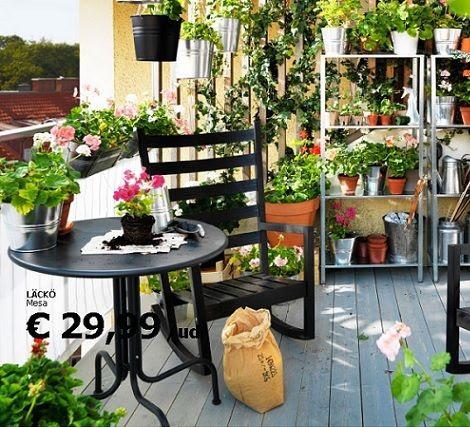 Muebles Jardin Tumbonas Ikea Terraza