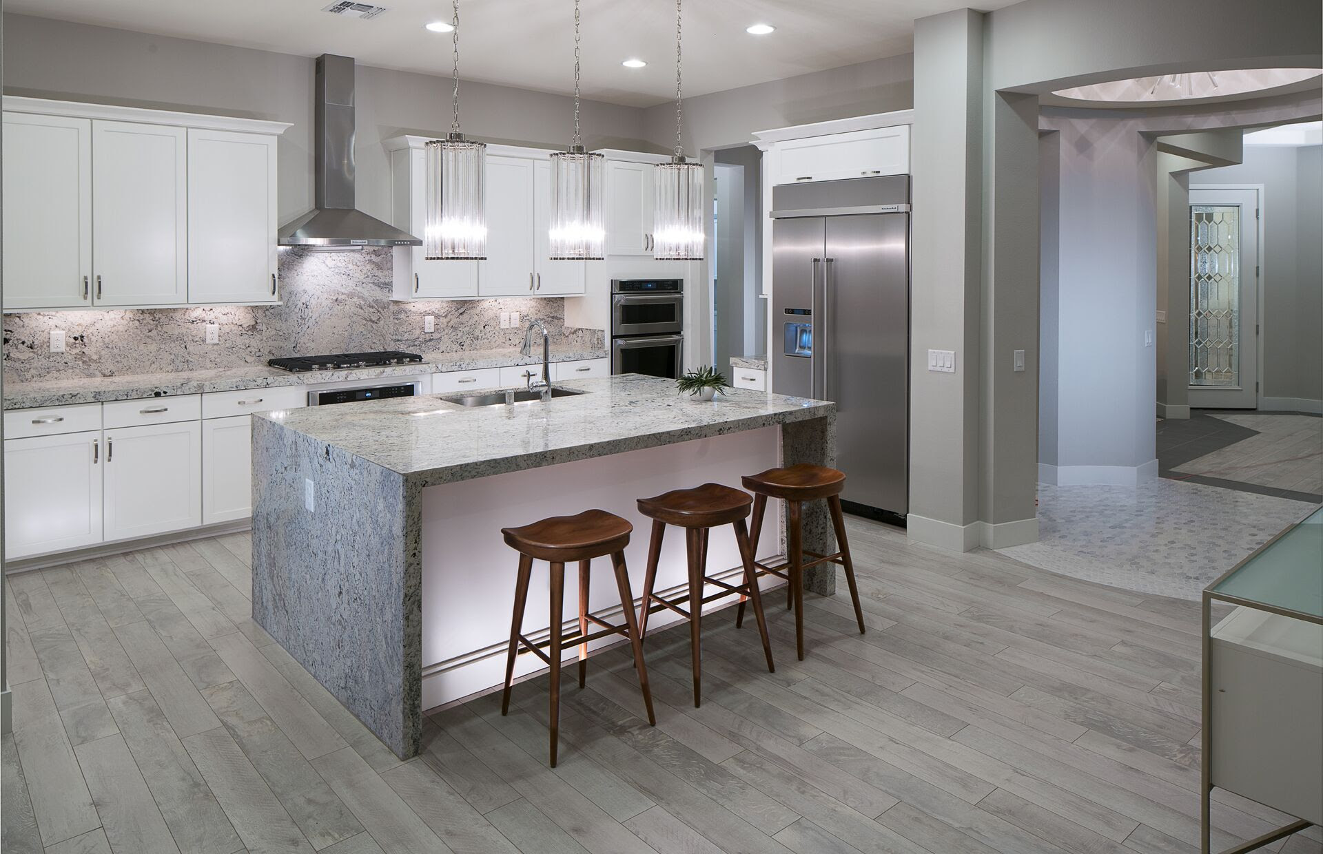 5 Kitchen Design Trends to Take From Model Homes ...