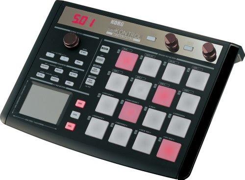 KORG コルグ トリガー・パッド搭載 MIDI コントローラー padKONTROL  黒