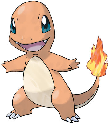 Charmander artwork by Ken Sugimori