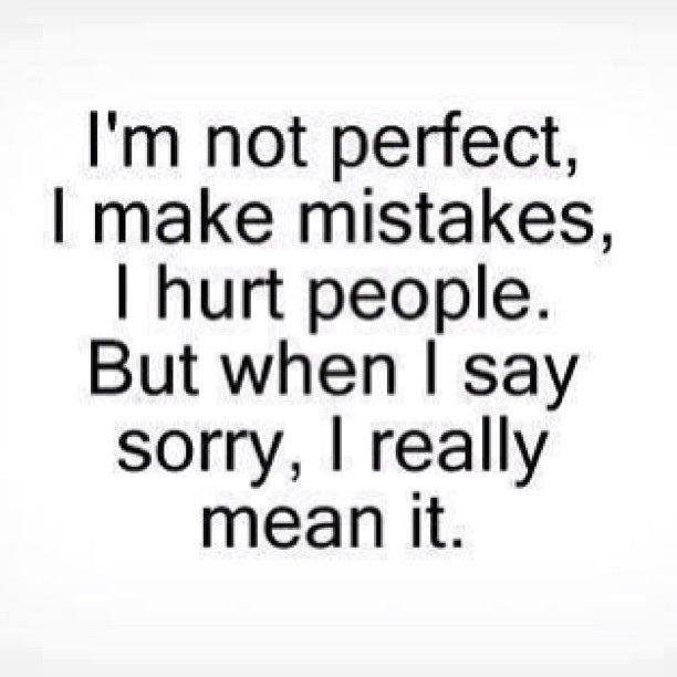 Quotes About Saying Im Sorry 40 Quotes