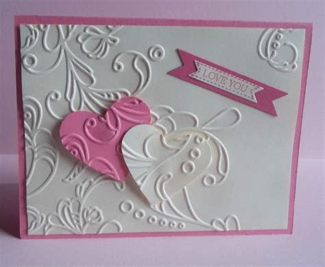 Stampin Up handmade greeting card love valentines day