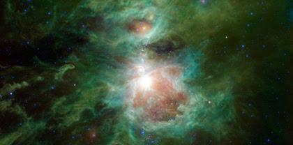 WISE sente o calor da espada de Orion