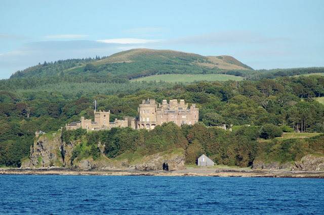 File:Culzean and Mochrum Hill - geograph.org.uk - 231308.jpg