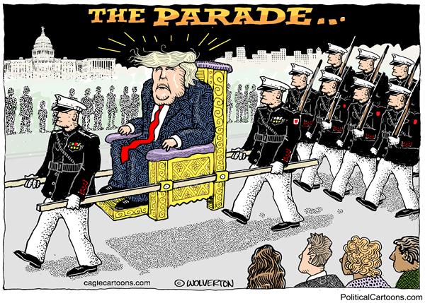 Trump's charade