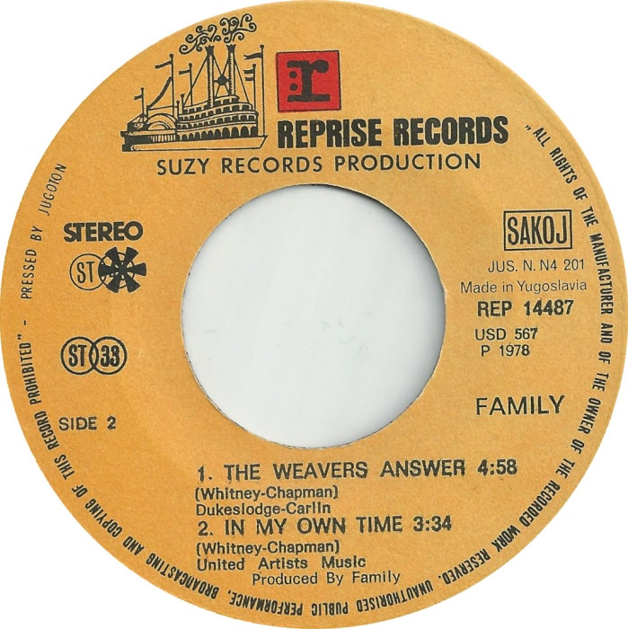 45cat Family Burlesque The Weavers Answer Reprise