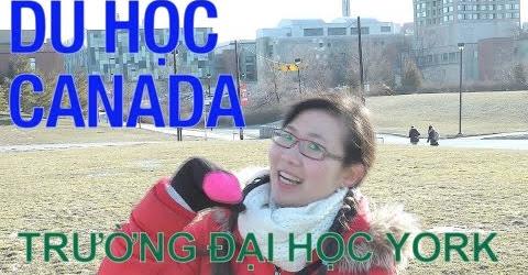 Du học Canada - Tham quan trường Đại học York ở Toronto - A day at York University