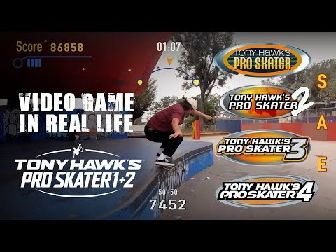 Real Life Tony Hawk Pro Skater is a Live Action Video Game