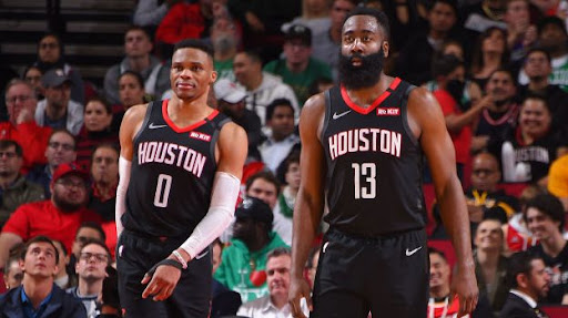 Avatar of James Harden, Russell Westbrook combine for 78 points in Houston win vs. Boston