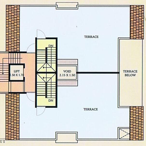 A J Serene Ram Indu Park Baner Pune - 4th Floor - B 5 & A 5 Duplex - Top Terrace