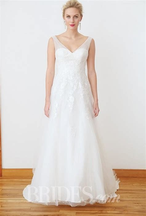davids bridal fall  stunning cheap wedding