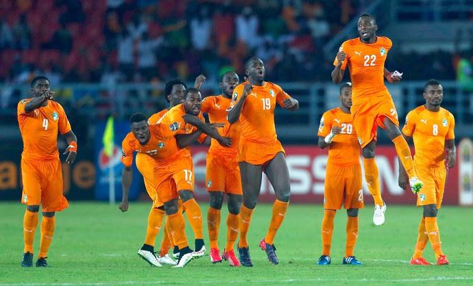 Costa do Marfim bate Gana nos penáltis e é campeã africana (Foto: Reuters)