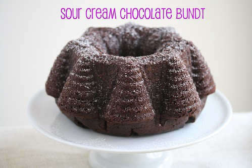 Sour Cream Chocolate Bundt - Food Librarian