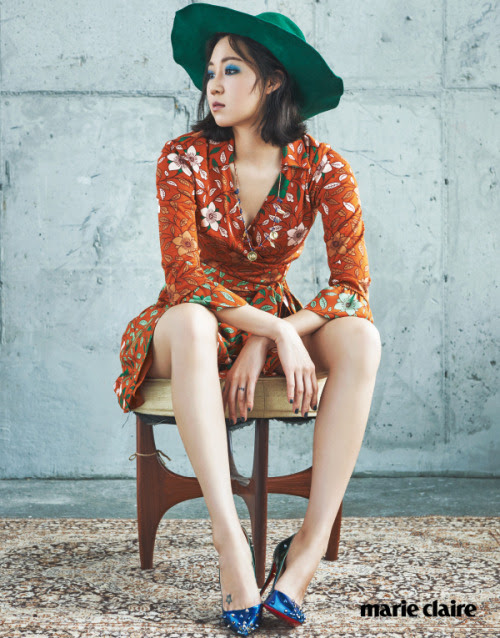Gong Hyo Jin for Marie Claire Korea September 2015. Photographed by Kim Young Joon