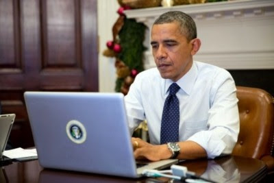 Devemos o conhecimento de todos estes detalhes à enorme valentia de Edward Snowden. Foto The White House.
