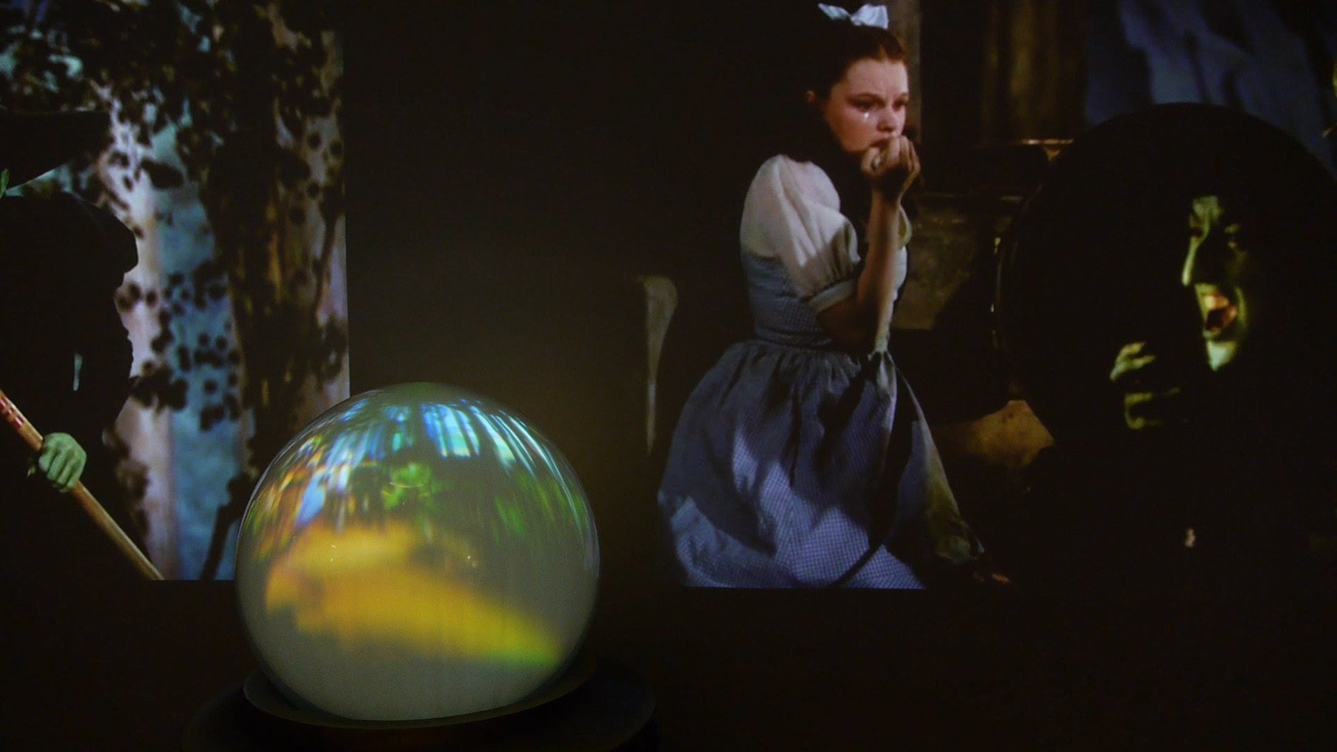 Gaze Into Film History Wizard Of Oz Crystal Ball On Display At