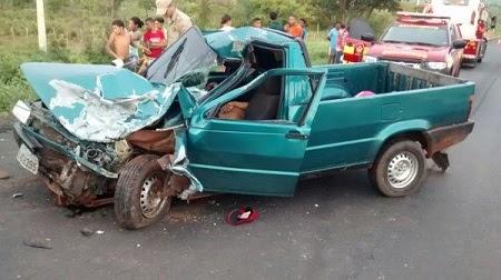Trágico: Acidente na BR-316 deixa três mortos