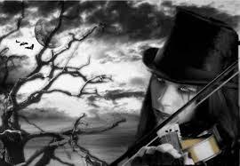 violino,gotico,noite,sozinho,triste,chorando
