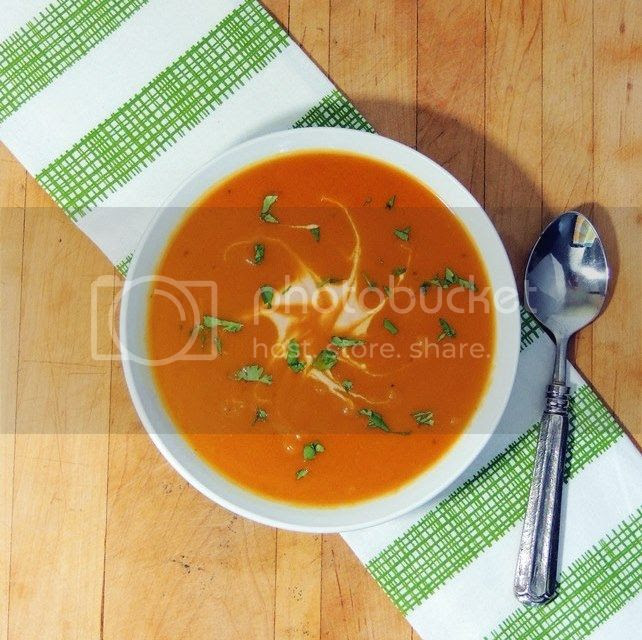 Creamy Chipotle Pumpkin Soup