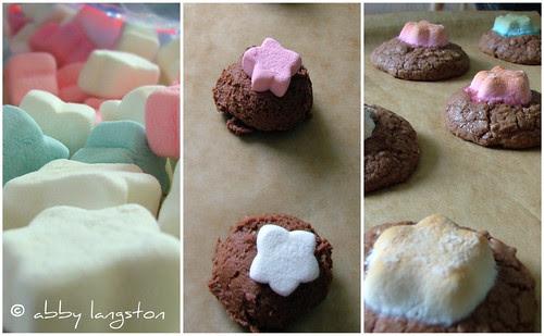 mississippi mud cookie collage