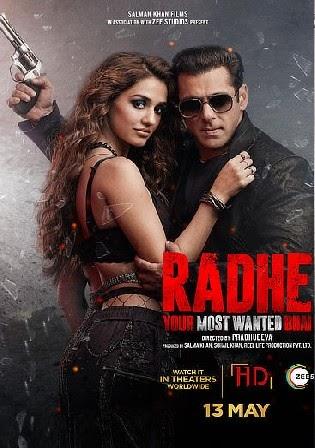 Radhe 2021 WEB-DL 1.1Gb Hindi Movie Download 720p