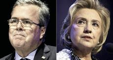 Jeb Bush e la Clinton