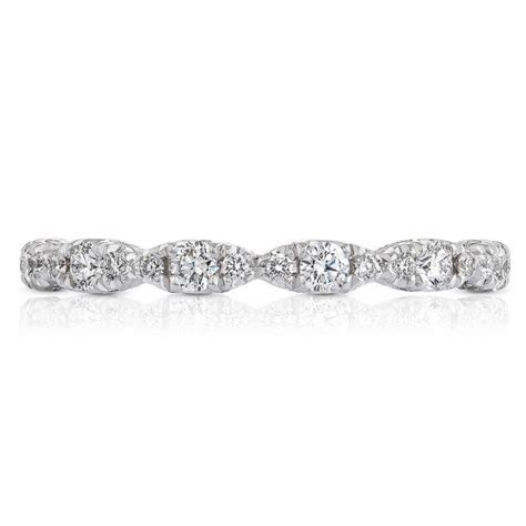 Tacori HT2558B 18 Karat Petite Crescent Diamond Wedding