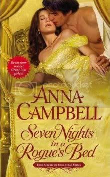 Seven Nights in a Rogues Bed Cover
