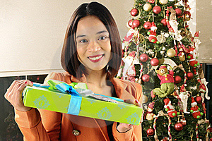 Girl and her gift